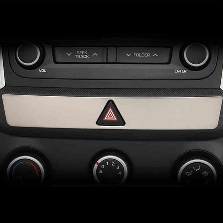 1PC For Hyundai Ix25 Emergency light button Decoration frame