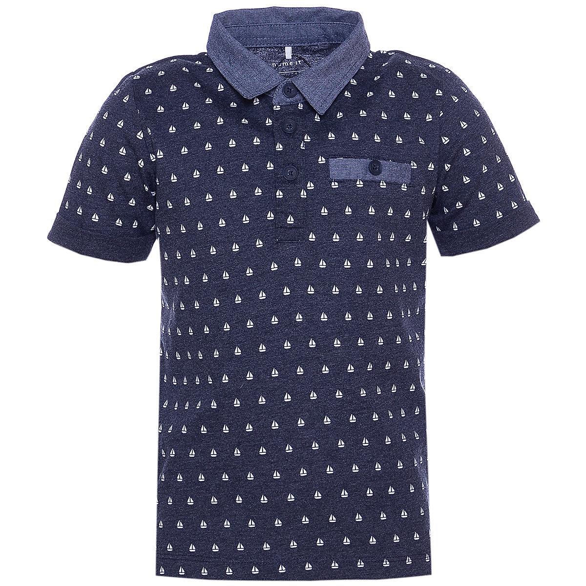 NAME IT Polo Shirts 10623662 Children Clothing T-shirt Shirt The Print For Boys