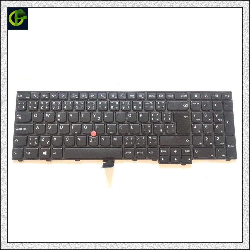 Czech Keyboard for Lenovo ThinkPad W540 W541 W550s T540