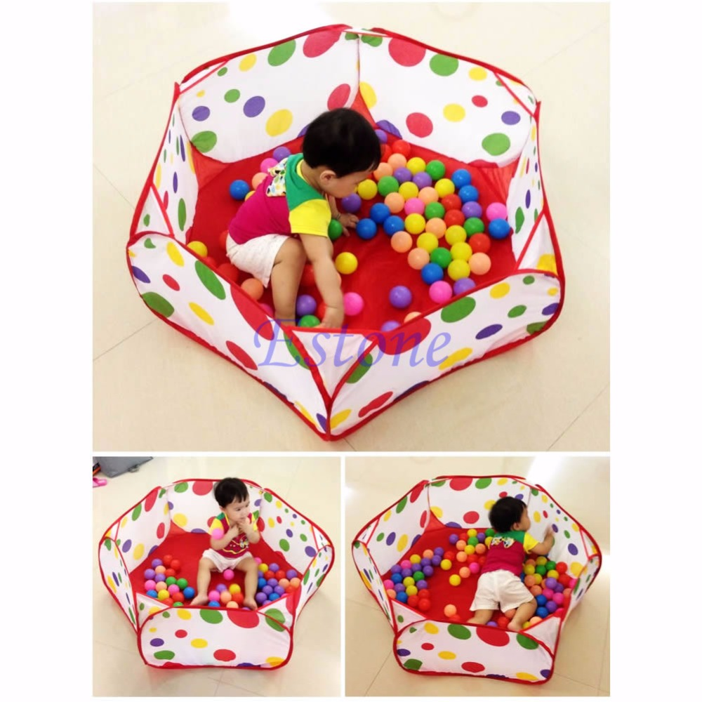 2018 Foldable Kids Ocean Ball Children Pool Pit Game Play Toy Tent Baby Safe Playpen