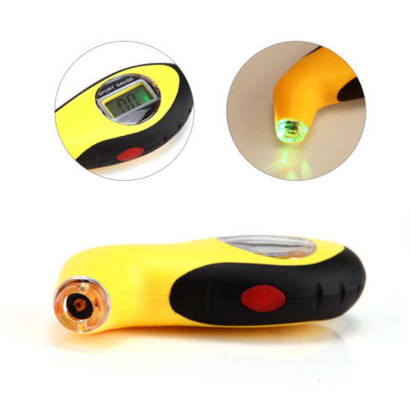 Digital Tire Pressure Gauge Diagnostic Tools Manometer Barometers Tester LCD Tyre Air Pressure For Auto Car