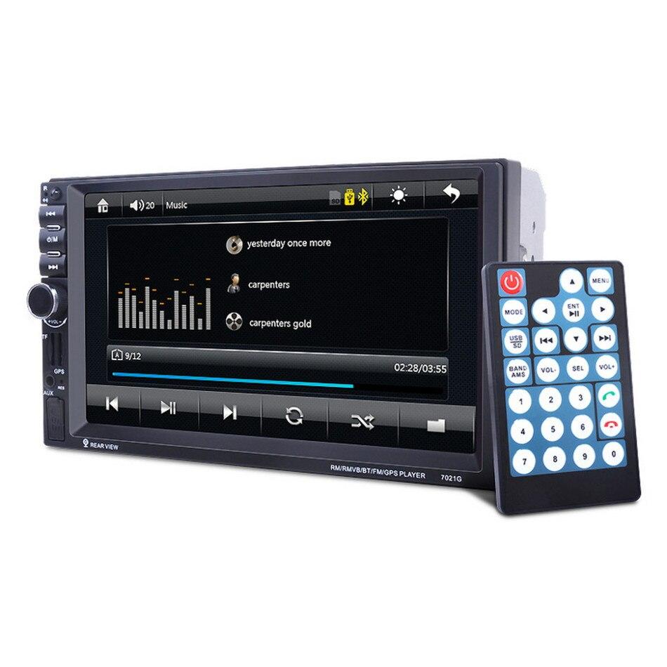 7021G 2 Din In Dash Audio Video Player ,7