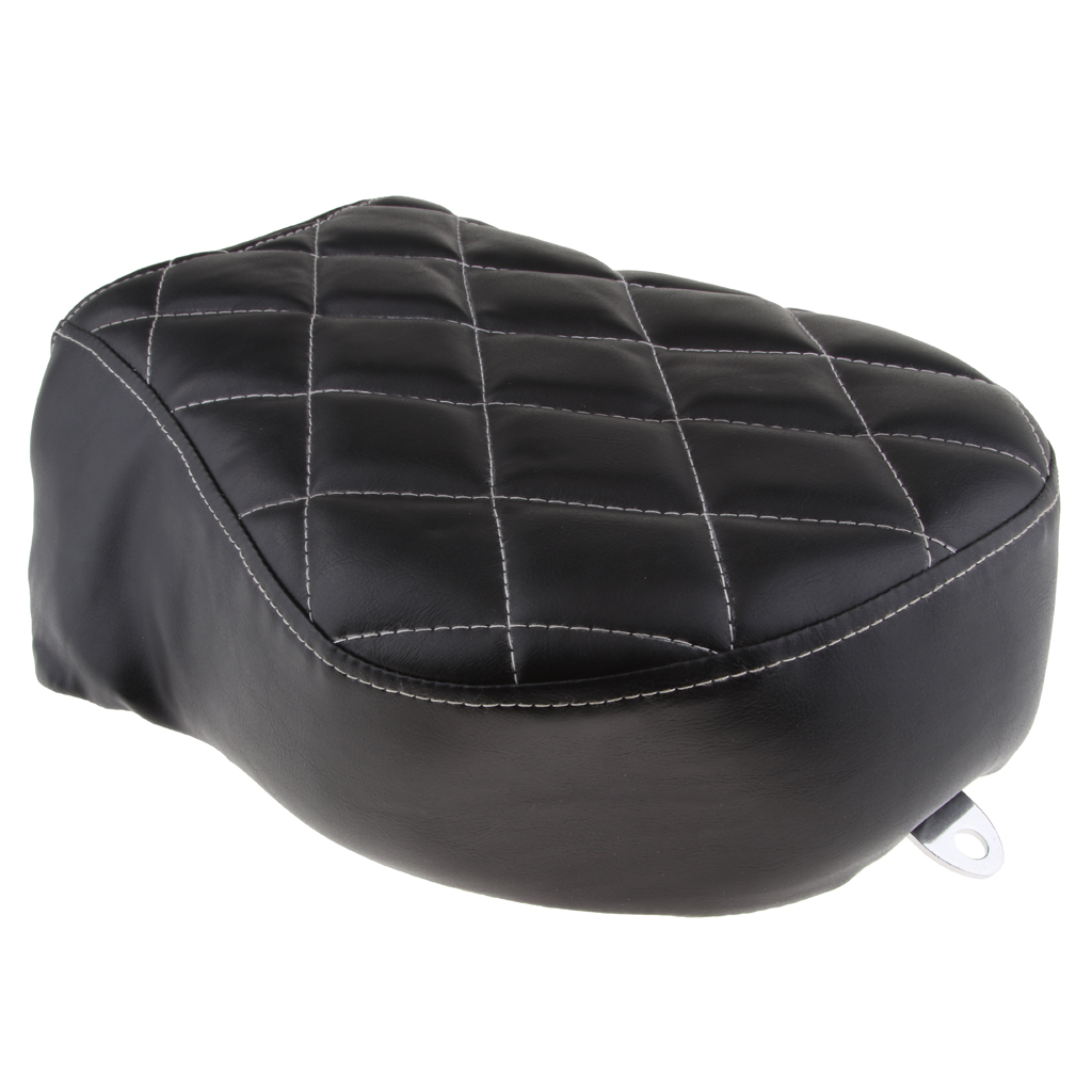 Soft Synthetic Leather <font><b>Rear</b></font> Passenger <font><b>Seat</b></font> Anti-skid for Harley Sportster XL <font><b>883</b></font> XL 1200 Motorcycle Passenger <font><b>Seat</b></font> Accessories image