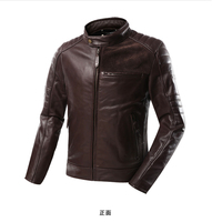 Scoyco JK51 motorbike racing jackets Genuine Leather Motorcross Jackets Ghost in City motorcycle biker Jacket