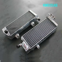 Braced aluminum alloy radiator For KTM 125/200/250/300 SX/EXC/MXC 2008-2012 2011 09
