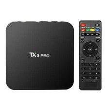 TX3 Pro Amlogic S905X Android 6.0 TV Box 1.5 GHz 1G/8G KODI IPTV Portugal Russe Hébreu IPTV Europe Smart Media Player
