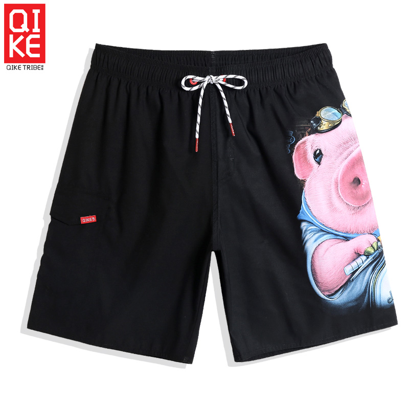 Board     shorts   Men's bathing suit mesh   shorts   quick dry hawaiian swimsuit printed joggers swimwear beach   shorts