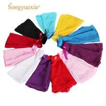 songyuexia Women's Chiffon Ballet Tutu Dance Skirt Dance Skate Wrap Scarf 3 Sizes Girls Basic Practice Ballet Skirt 11clolors