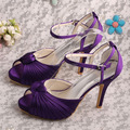 Wedopus Custom Woman Dresses New Fashion Summer Gladiator Sandal Wedding Sandals Purple