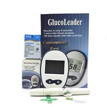 جهاز قياس السكر بالدم معدات طبية اختبار مرض السكري جهاز الرعاية الصحية اختبار السكر في الدم السكري 25/50/100/150 شرائط lans