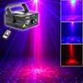 New 16 Patterns RB Laser Crossover Effect Projector 3W Blue LED Mixing Effect DJ KTV Party Stage Lighting Z16RB