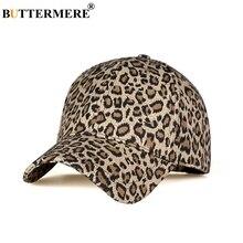 BUTTERMERE Cotton Baseball Cap Women Gold Leopard Snapback Hats Men Fashion Print Spring Autumn Vintage Brand Outdoor Sun Caps