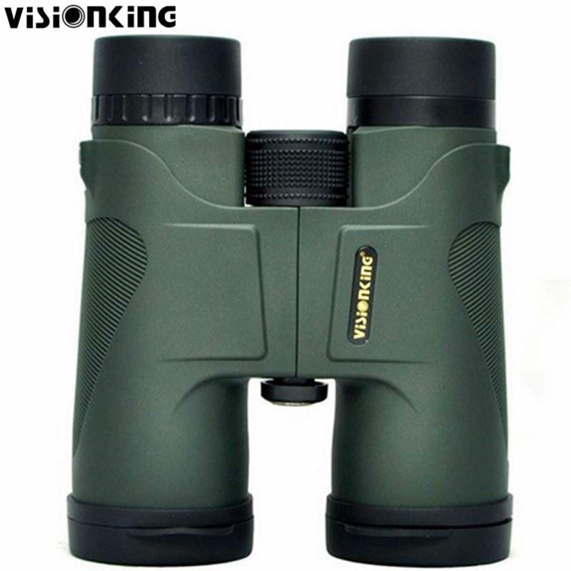 Visionking 10x42 Green 100 Hunting Roof Binoculars Telescope Birdingwatching Sports Outdoor Professional Telescope Binoculars