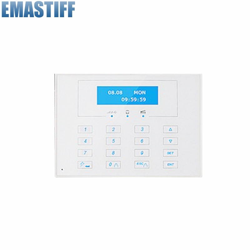 868MHZ LCD display Wireless Two-way remote control keypad, External Password keyboard for 868MHZ gsm alarm systems hot selling wireless two way keypad with lcd back light usb port to charge