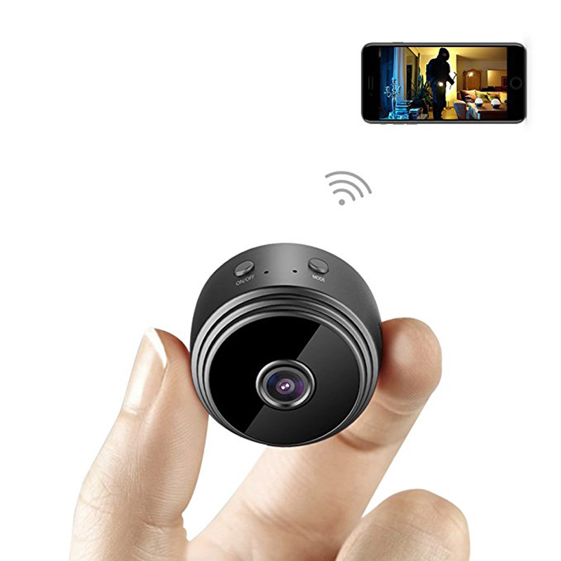 Mini Camera WIFI Wireless HD 1080P Indoor Home Small Camera Security Mini Camcorder Night Vision Motion Detection Recording Cam