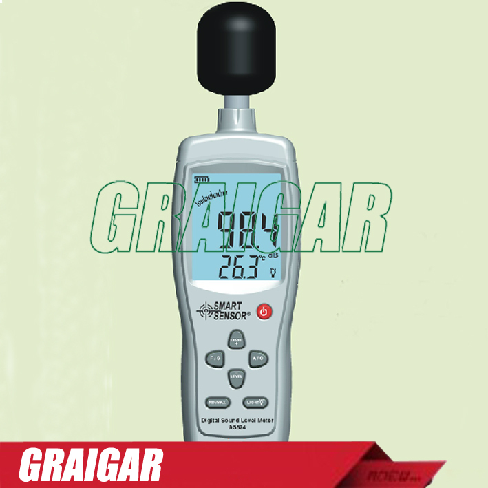 ФОТО Smart Sensor AS824 digital noise meter The decibel meter