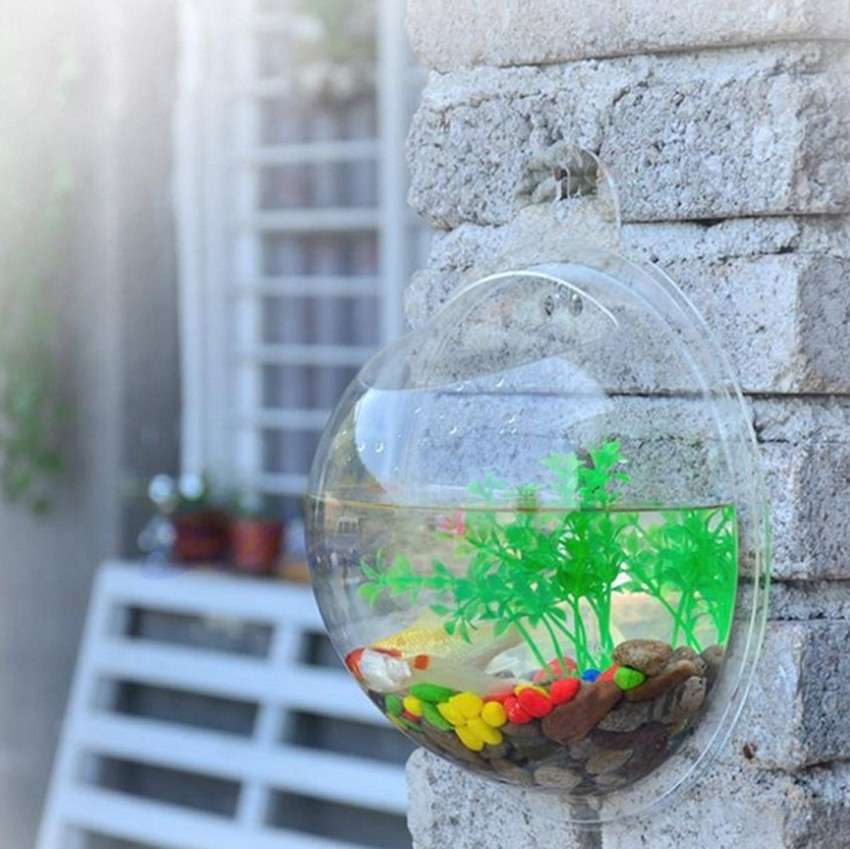 Glass fish bowls reviews online shopping glass fish for Glass fish tank
