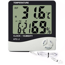 Indoor Outdoor Thermometer Hygrometer, Electronic Thermometer Humidity Meter, Weather Station Humidity Temperature Instruments electronic hygrothermostat etf 012 temperature and humidity adjustable hygrothermostat