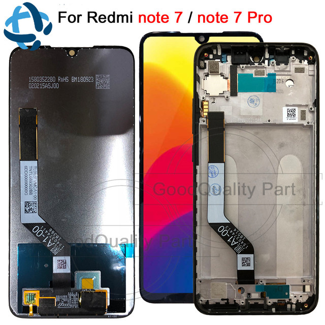 """ทดสอบ 100% สำหรับ Xiaomi Redmi หมายเหตุ 7 Pro จอแสดงผล LCD Touch Digitizer Snapdragon 660 ชุด 6.3 """"สำหรับ Redmi note7 จอแสดงผล LCD"""