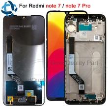 """100% тест для Xiaomi Redmi Note 7 Pro ЖК экран сенсорный дигитайзер Snapdragon 660 сборка 6,3 """"для Redmi Note7 ЖК дисплей"""