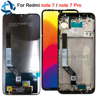 100% test for Xiaomi Redmi Note 7 Pro LCD Display Screen Touch Digitizer Snapdragon 660 Assembly 6.3for Redmi Note7 LCD Display