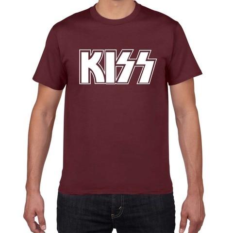 2019 New Kiss  End of The Road Tour T SHIRT men plus size rock Band t-shirt men 100% cotton casual tshirt men street wear tops Multan
