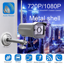 HD Wifi IP Camera 2.0MP 1080P Outdoor Weatherproof Infrared Night Vision Security Video Surveillance Camera Audio Record