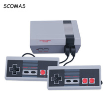 SCOMAS 8 Bits Classic Family Game Consoles System TV Video Mini Handheld Console For NES Player Built-In 620 Games