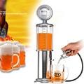 1pcs New Single GUN Silver Liquor Pump Gas Station Beer Alcohol Liquid Water Juice Wine Soda Drink Beverage Dispenser Machine
