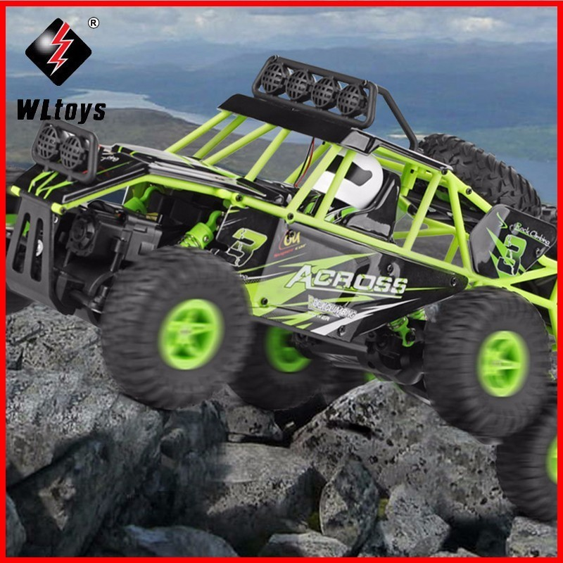 WLtoys 18628 Remote Control Car 1/18 2.4G 6WD Electric Toy Cars Model Rock Off-Road Crawler Climbing RC Buggy Outdoor Racing Car hsp 1 10 off road buggy body 2pcs 31 17 6cm 10706 10707 106ma2 rc car electric rc car bodyshell for 94107 94107pro