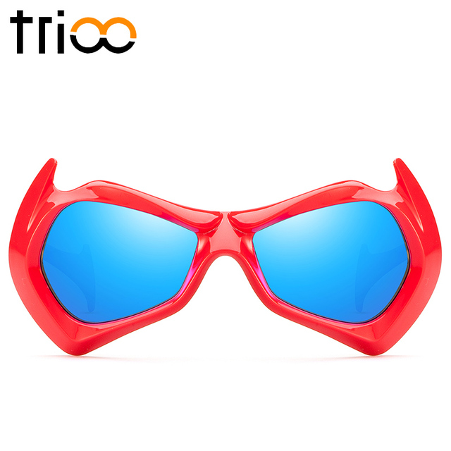 edb5b49ee9 TRIOO Cool Sunglasses Children For Boy Colorful Sun Glasses Kids High  Quality Gradient Lens Shades Oculos