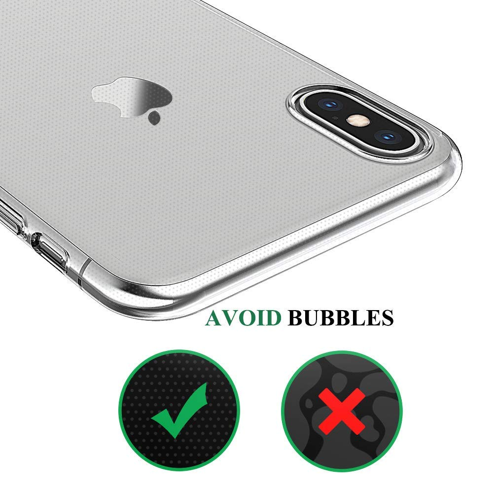 Ascromy For iPhone XS Max Case Transparent Clear TPU Silicone Phone Cases Cover For Apple iPhone X XR 8 Plus 7 6 6S 5 5S SE 5SE 5C 11 Pro 8plus 7plus Accessories