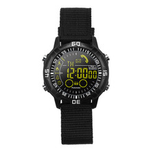smartwatch EX28A Outdoor Sports Temperature Measurement Elevation Altitude Air Pressure Heart Rate Step Counting Round Touch