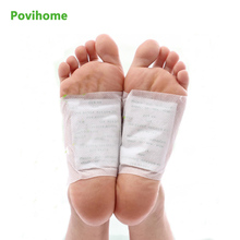 Povihome 120Pcs/Bag Detox Foot Pads Patch Health Care Foot Care Tools