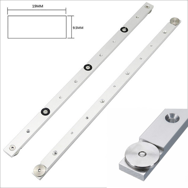 1pc 300/450/650mm Aluminium Alloy Miter Bar Miter Slider Table Saw Miter Gauge Rod