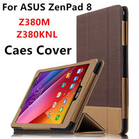 Case For ASUS ZenPad 8 0 Z380M Protective Smart Cover Leather Tablet For ASUS ZenPad 8
