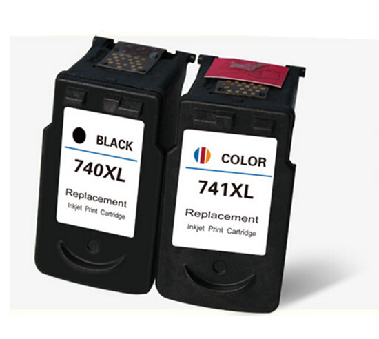 ФОТО 2 set  Compatible 740 741 PG 740 CL 741 ink cartridge for Canon Pixma MX517 MX437 MG2170  Panic Buying hot sale