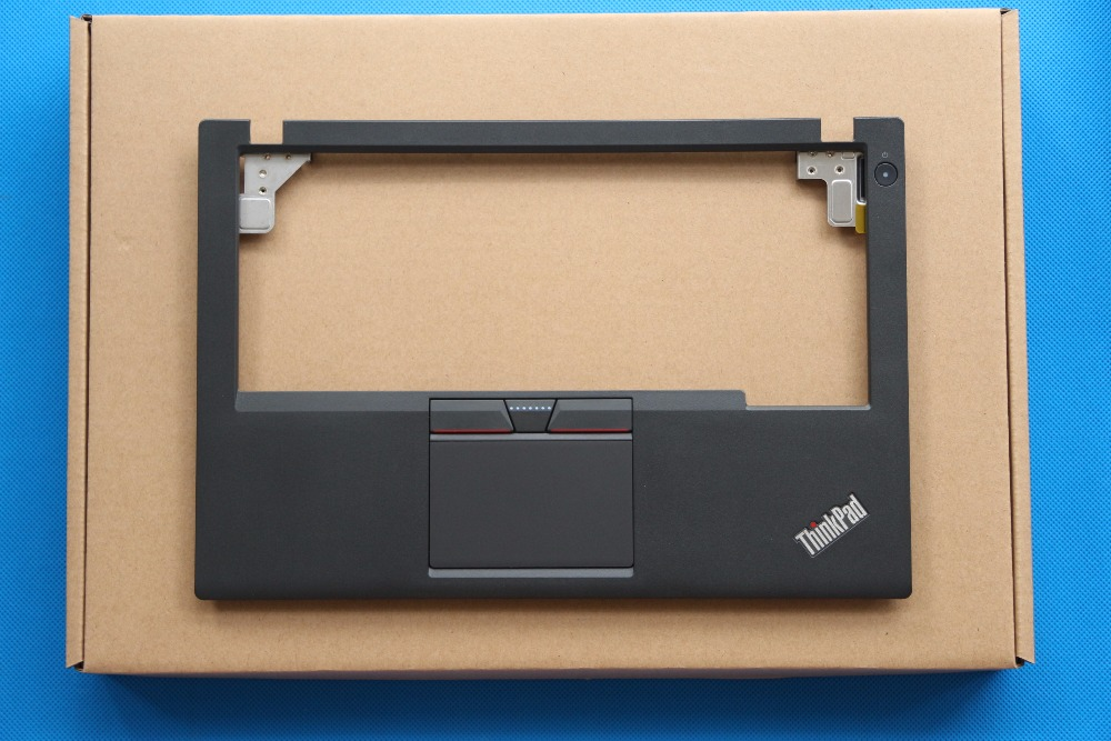 New Original for Lenovo ThinkPad X250 X250I X240 Palmrest Cover Upper Case 3 Three Keys Touchpad