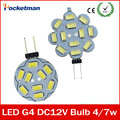 G4 LED Bulb Candle Lights DC 12V Car Marine Camper RV 15leds 5730 SMD Led Light Equal 20/30W Incandescent LED Lighting