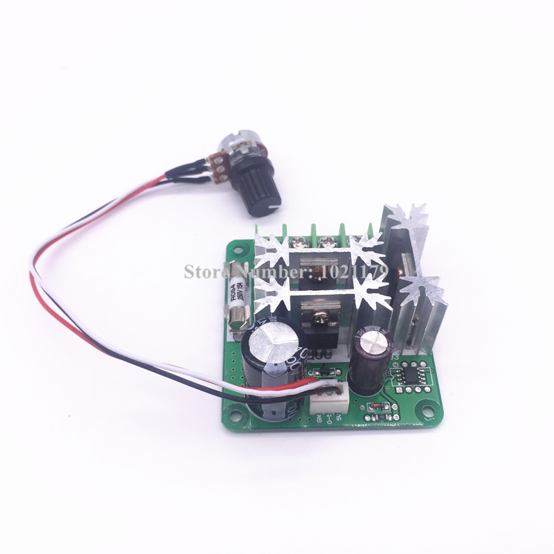 300W - 400W CNC spindle motor rotary speed controller DC motor control board with speed switch цена