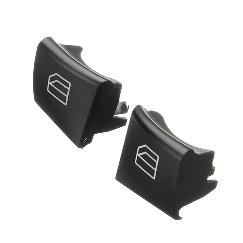 Do Promotion! 1 Pair Driver Window Switch Repair Button Cap for Mercedes ML GL R Class W164 X164 W251 88