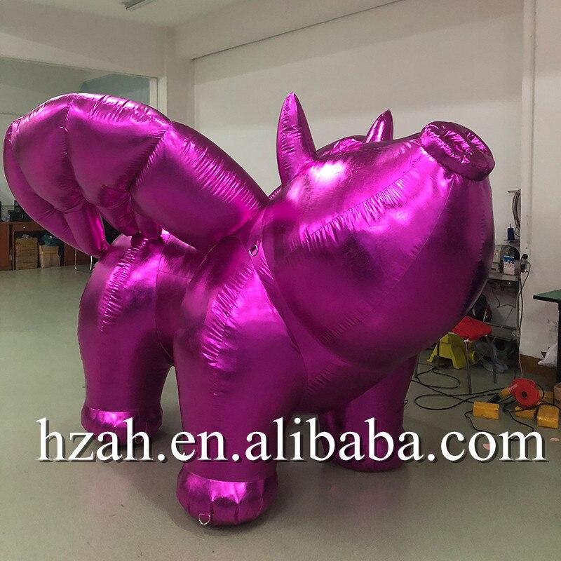 Красный надувной Летающий модель свинья надувные золотые свинья талисман мультфильм