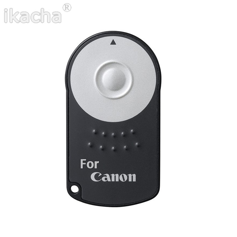 DSLR Camera Remote Control RC-6 With Battery For Canon 60D 70D 80D 5D 6D 7D 450D 500D 550D 600D 77D 650D 700D 750D 800D