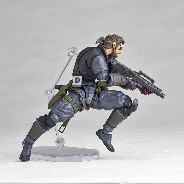 Vulcanlog 004 MGS Metal Gear Solid V The Phantom Pain Venom Snake 15cm PVC Action Figure Toy new metal gear solid v action figure toys 16cm mgs snake figma model collectible doll mgs figma figure kids toys christmas gifts