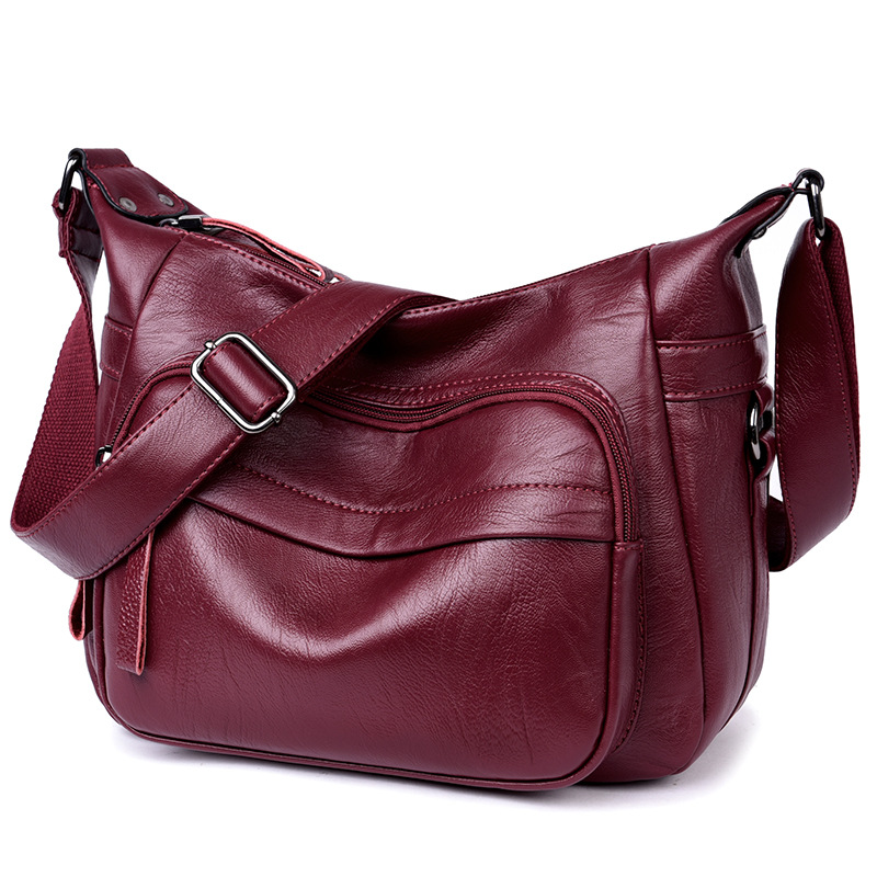 Fashion Women Messenger Bag Soft Leather Women Shoulder Bag Crossbody Bags Brand Designer Casual Ladies Handbag Bolsas Femininas стоимость