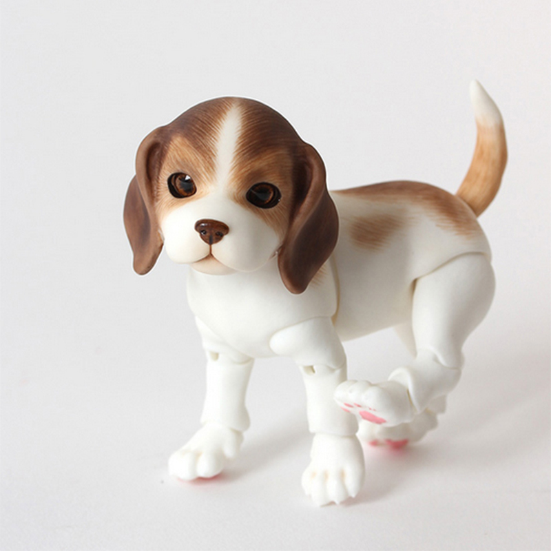Iplehouse IP pet beagle puppy dog bjd sd doll 1/8 body model pets bjd oueneifs High Qual ...