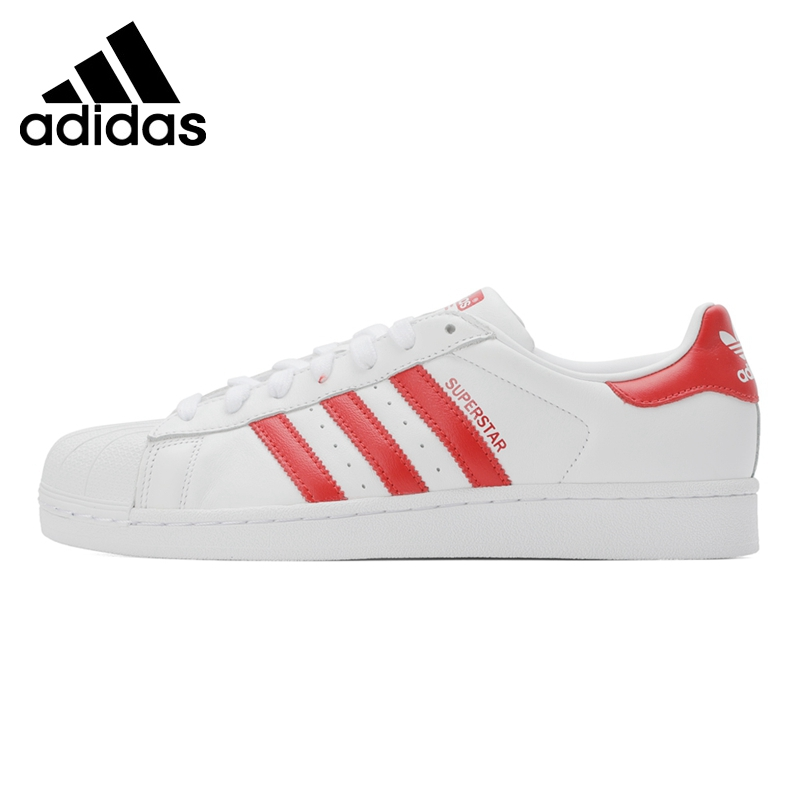 Original New Arrival  Adidas Originals SUPERSTAR Unisex  Skateboarding Shoes Sneakers