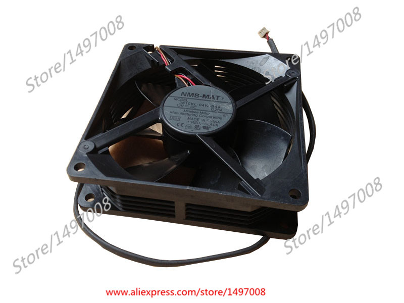 NMB-MAT 3610KL-04W-B49, X51 DC 12V 0.28A 90X90X25mm Server Square fan x51