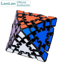 LanLan Gear Octahedron Magic Cube Diamond Strange Shape Professional Neo Speed Puzzle Antistress Fidget Educational Toys For Kid