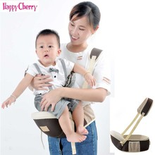 3 in 1 Baby Carrier Waist Stool Baby Sling Hold Waist Belt Backpack Hipseat Belt Kids Infant Hip Seat Firm Breathable effortles